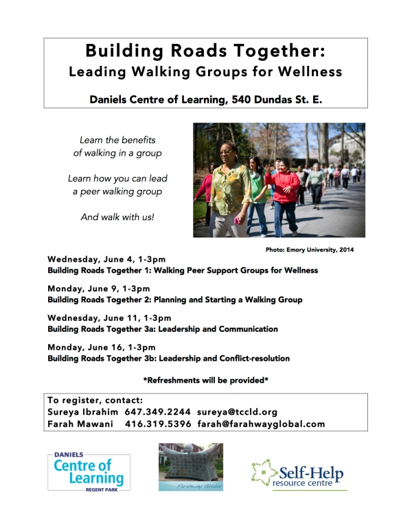 Building Roads Together: Leading Walking Groups for Wellness
