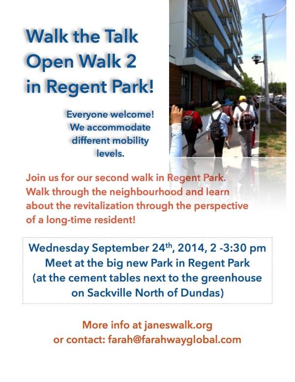 Walk the Talk Open Walk 2 23.09.14
