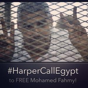 #HarperCallEgypt