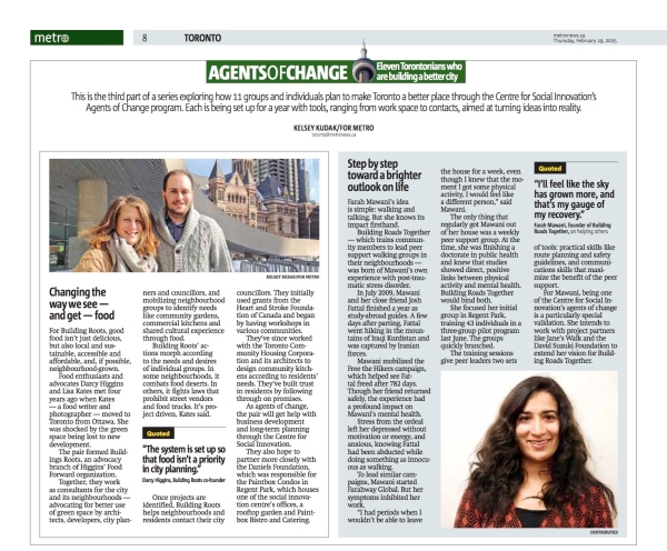 Metro News Feature - 19.02.15